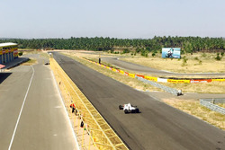 JA Motorsports drivers test at Kari Motor Speedway