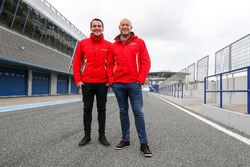 Norbert Michelisz and Rob Huff