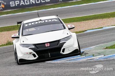 Presentación de pilotos de Honda WTCC