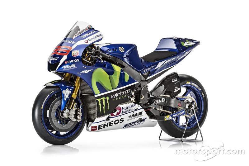 New Yamaha YZR-M1 for Jorge Lorenzo, Yamaha Factory Racing