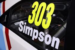 #303 Matt Simpson, Simpson Motorsport Honda Civic