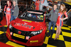 Eurotech Racing Honda Civic Type R with drivers Martin Depper and Jeff Smith