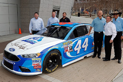 Brian Scott, Richard Petty Motorsports Ford with Richard Petty