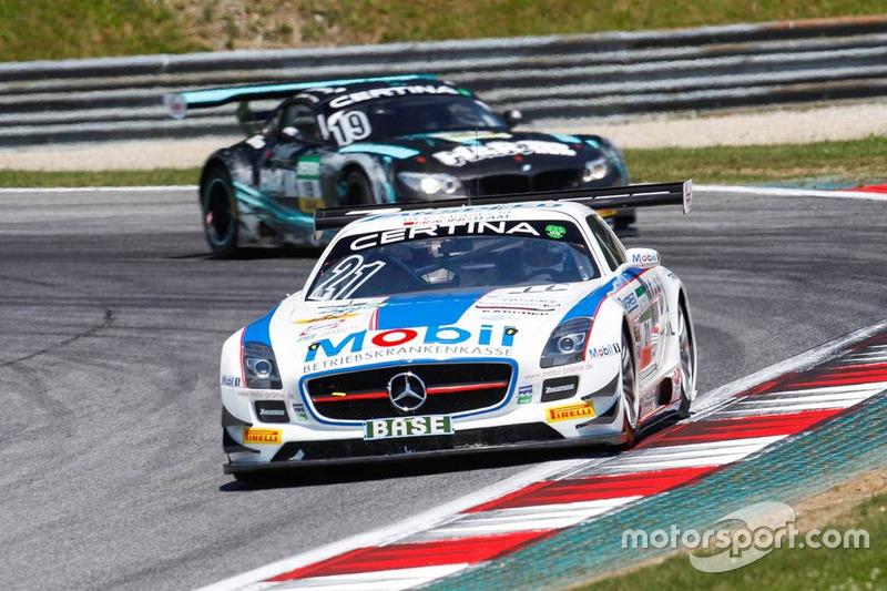 #21 Team Zakspeed Mercedes-Benz SLS AMG GT3: Sebastian Asch, Luca Ludwig