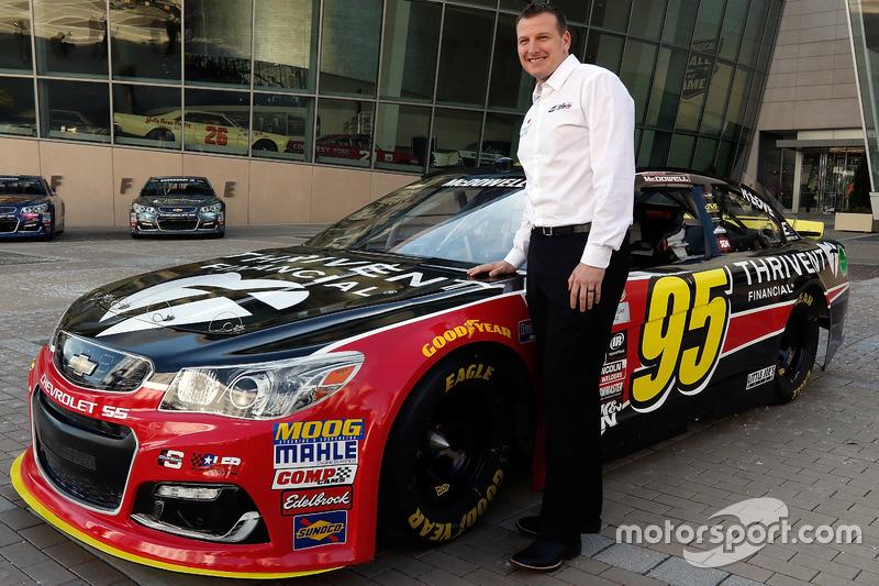 Startnummer 95: Michael McDowell (Circle/Leavine-Chevrolet)