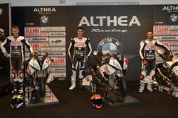 Markus Reiterberger, Jordi Torres and Raffaele De Rosa, Althea Racing