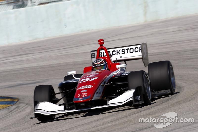Indy-Lights-Test in Homestead, Januar