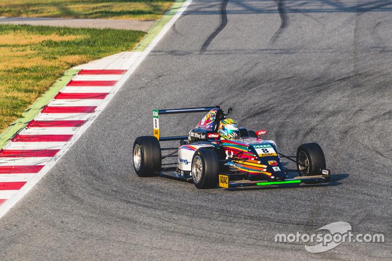 ADAC F4: December Barcelona testing