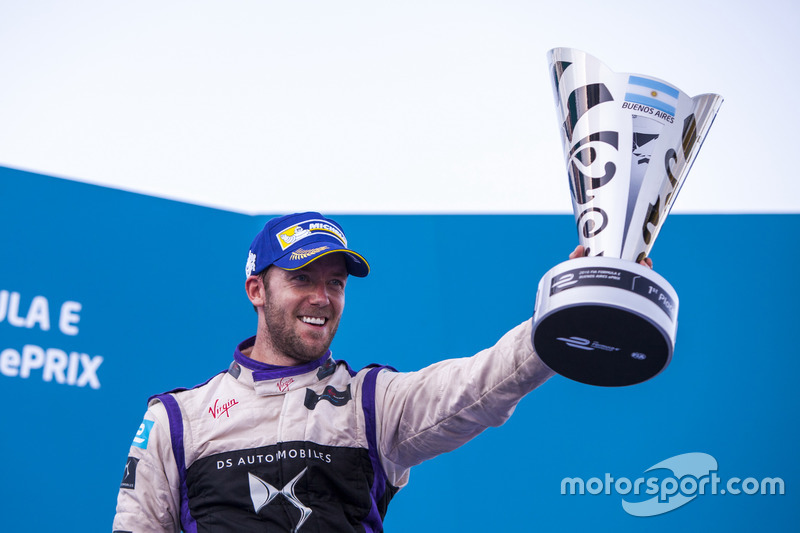 El ganador, Sam Bird, DS Virgin Racing Formula E Team