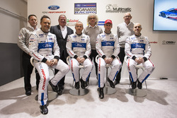 Marino Franchitti, Stefan Mücke, Andy Priaulx, Olivier Pla, Chip Ganassi Racing, George Howard-Chappell, Ford GT program menajeri, Larry Holt, Multimatic Motorsporları Teknik Direktörü, Dave Pericak, Director, Ford Performance, Chip Ganassi,