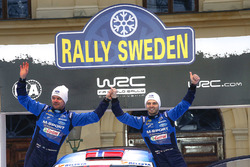 Эйвинд Брунильдсен и Андерс Фредрикссон, M-Sport Ford Fiesta WRC