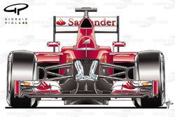 Ferrari SF15 ophanging