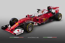 Машина Ferrari SF-16H