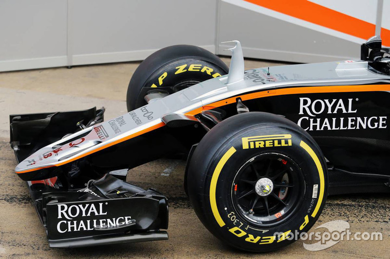 Detalhe Sahara Force India F1 VJM09
