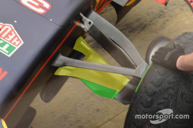Деталь машины Red Bull Racing RB12