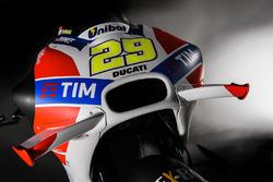 Das Bike von Andrea Iannone, Ducati Team