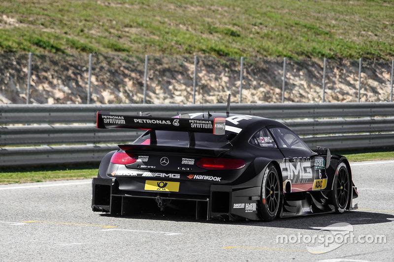Bester Mercedes-Fahrer: Robert Wickens, Mercedes C 63 DTM