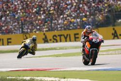 Nicky Hayden, Repsol Honda Team en Colin Edwards, Yamaha Factory Racing