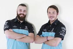 Stefano Comini und Jean-Karl Vernay, Leopard Racing