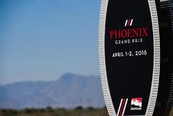 Phoenix Grand Prix signage