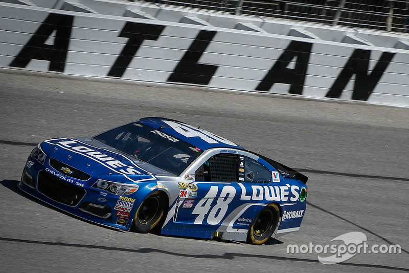 Atlanta: Jimmie Johnson (Hendrick-Chevrolet)