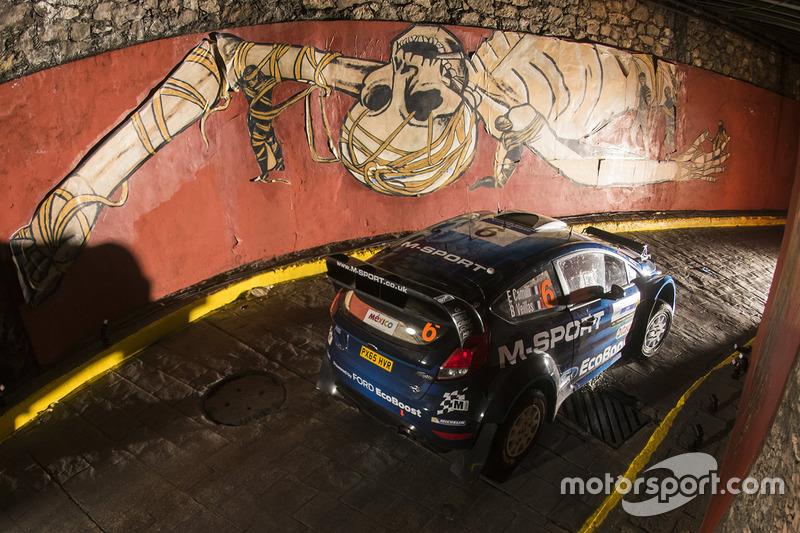 Эрик Камилли и Бенджамин Вейлас, M-Sport Ford Fiesta WRC