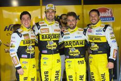 Nicolas Costa, Raphael Abbate, Felipe Lapenna und Marco Cozzi