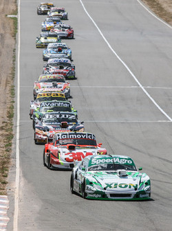 AgustIn Canapino, Jet Racing Chevrolet, Mariano Werner, Werner Competicion Ford, Facundo Ardusso, JP Racing Dodge, Mauro Giallombardo, Maquin Parts Racing Ford, Mauricio Lambiris, Coiro Dole Racing Torino