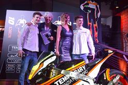 Lorenzo Baldassarri und Luca Marini, Forward Racing