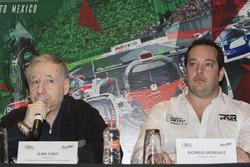 Jean Todt, FIA President and Ricardo González, RGR Sport