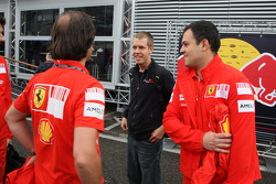 Sebastian Vettel, Scuderia Toro Rosso with Scuderia Ferrari, Team members
