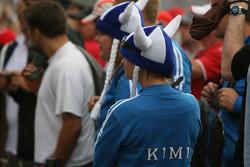 Kimi Raikkonen, Scuderia Ferrari, fans