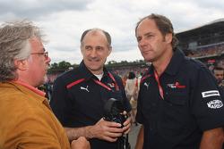 Keke Rosberg with Gerhard Berger, Scuderia Toro Rosso, 50% Team Co Owner