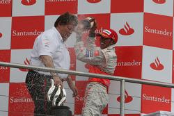Podyum: Lewis Hamilton ve Norbert Haug
