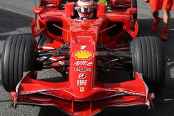 Kimi Raikkonen, Scuderia Ferrari, detail