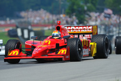 Pace lap: Justin Wilson