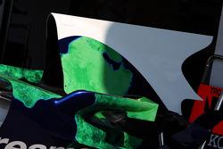 Honda Racing F1 Team, shark fin