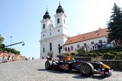 Red Bull demonstration, Lake Balaton, Sebastien Buemi, Test Driver, Red Bull Racing