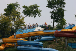 Water park near the circuit