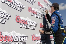 Pole winner Jimmie Johnson