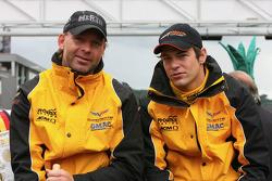 Uwe Alzen and Alex Margaritis