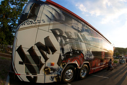 Watkins Glen fan fest: Jim Beam hospitality RV