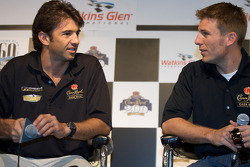 Crown Royal press conference: Christian Fittipaldi and Jamie McMurray