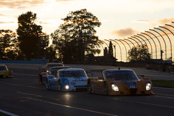 #10 SunTrust Racing Pontiac Dallara: Max Angelelli, Michael Valiante, #01 Chip Ganassi Racing with Felix Sabates Lexus Riley: Scott Pruett, Memo Rojas