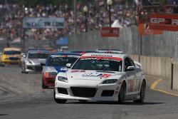 #51 Brass Mitchell Racing Mazda RX-8: Steve Ott, Tony Rivera