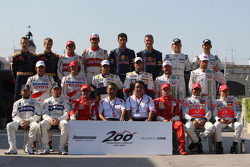 Foto de grupo, Bridgestone 200th Grand Prix