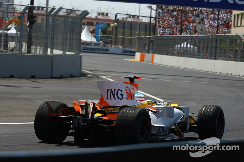 Grand Prix von Europa 2008 in Valencia