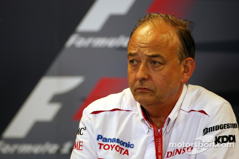 FIA press conference: John Howett, Toyota Racing, President TMG