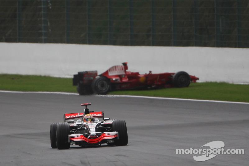 2008: Lewis Hamilton, McLaren Mercedes, MP4-23