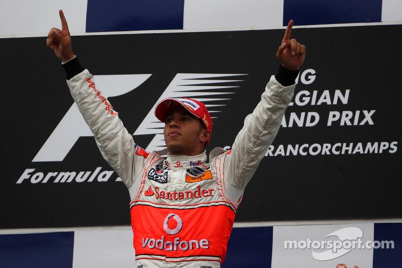 20-Gran Premio de Bélgica 2008 (3º), McLaren